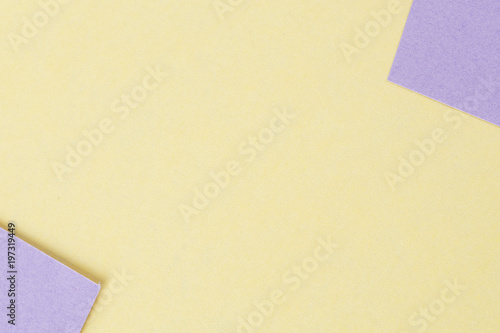 Abstract pastel coloured paper texture minimalism background. Minimal geometric shapes and lines in pastel colours.