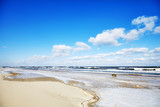 Picture of an empty beach in winter - 197324284
