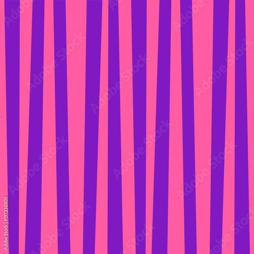 Cotton fabric Cute template with pink and violet vertical stripes.
