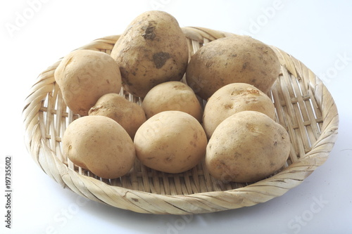 The image of the new potato