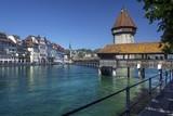 Chapel Bridge - Lucerne - Switzerland poster