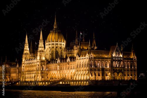 Fotobehang Boedapest Parlamento Budapest
