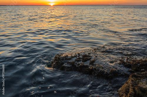 In de dag Ochtendgloren Ocean Sunrise