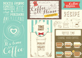 Coffee Menu Placemat - 197387016