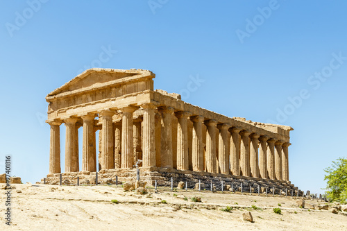 Tal der Tempel, Agrigent, Sizilien, Italien, Valley of the Temples, Agrigento, Sicily, Italy