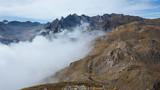 Montagne des alpes du sud de la france