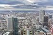 Vistas de la ciudad de Frankfurt (Alemania).