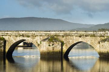 Bridge of Pontesampaio (Spain)
