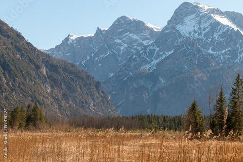 In de dag Blauwe jeans Österreich Totes Gebirge Almsee
