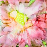 Pink Ink Flower