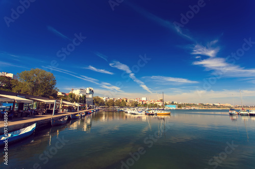 Small tourist harbor