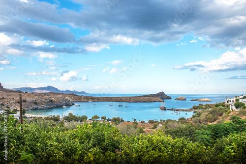 Foto op Plexiglas Pool Griechenland Rhodos