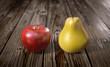 Vergleich Apfel und Birne