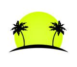 island palms vector - 197491678