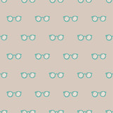 seamless glasses pattern - 197496064