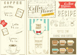 Template Menu for Coffee House - 197519658