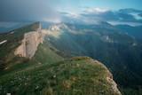 Mountain ridge Small Thach, Caucasus.