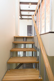 Stairs in a multi-storey apartment
