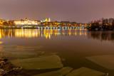 Warsaw. The city embankment.
