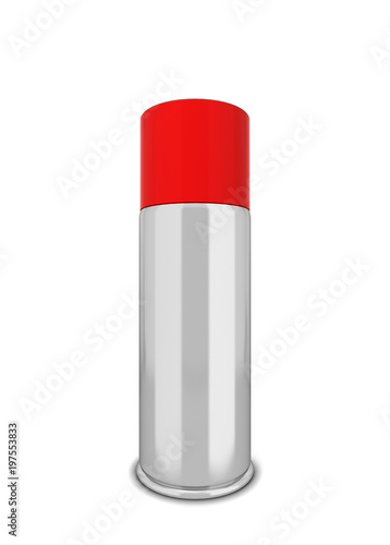 Blank aerosol package