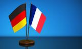 Germany France Desk Flag - 197559653