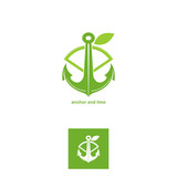 anchor and lime logotype 2