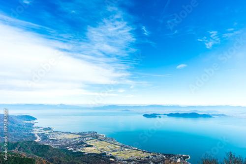 Fotobehang Pool 琵琶湖 滋賀県 日本