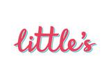 Hand drawn lettering littles. Kids print for girl.