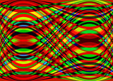 Vagues multicolores - 197609817