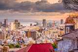 Kobe, Japan City Skylinew
