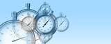 Temps et chronomètres performance arrière-plan - 197625440