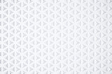 White triangle tiles pattern, 3d rendering background.