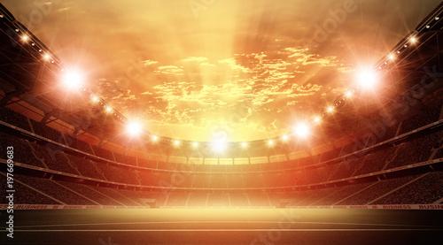 Leinwanddruck Bild The stadium