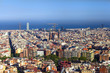Barcelona view at day