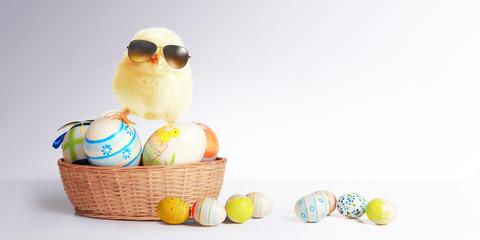 Ostern Küken Motiv