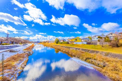Fotobehang Kyoto 京都 鴨川