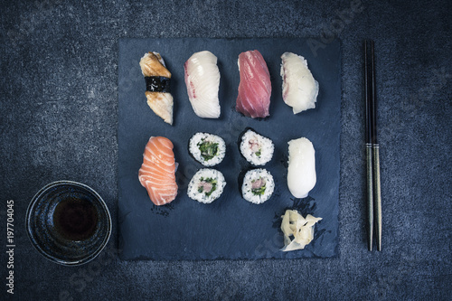 Foto op Canvas Sushi bar 寿司