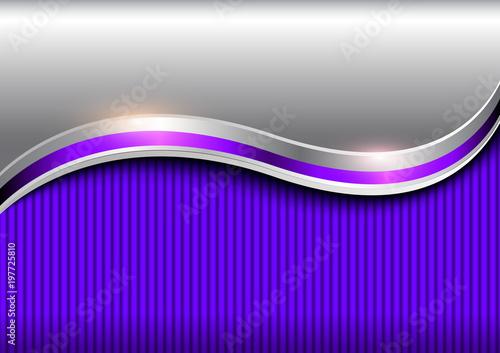 Tło srebna purpura, elegancki biznesowy wektorowy tło.