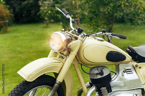 Foto op Canvas Scooter beautiful retro vintage motorbike