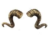 Ram horns. Watercolor Illustration. - 197737069