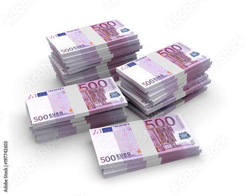walutowe banknoty euro