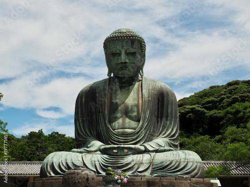 Fotobehang Boeddha Buddha sitzend Meditation Meditieren Hintergrund