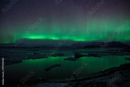 Aurora Borealis w Islandii