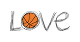 Love basket symbol