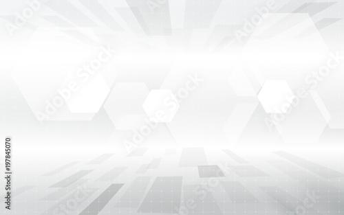 Abstrakcjonistycznej technologii techniki koloru geometrycznego popielatego colour pojęcia cyfrowy tło. Miejsce na Twój tekst