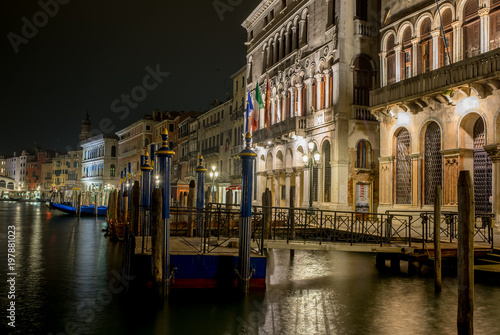 Fotobehang Venetie Venezia canal grande