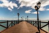 Pier on a beach Marbella
