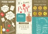 Pizza Menu Placemat - 197894872