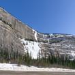 Weeping wall, Banff National park, Canada