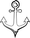Anchor Icon, Flat